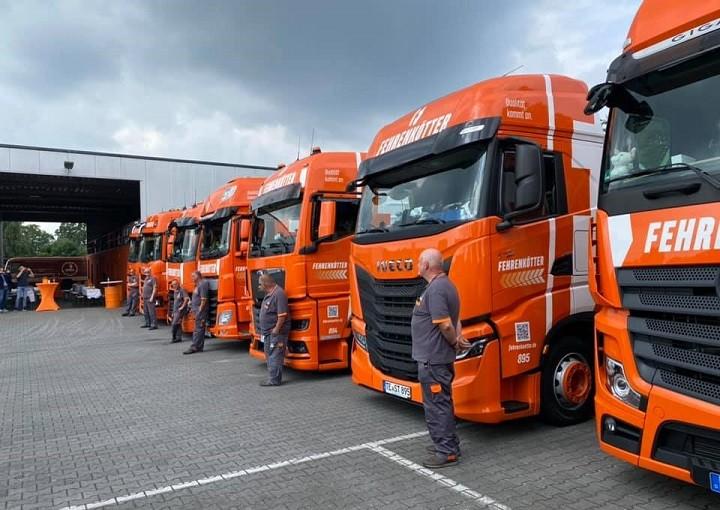 Transportista alemán realizará una prueba a largo plazo con camiones Daf, Iveco, Man, Mercedes, Renault, Scania y Volvo.