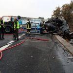 Muere un camionero carbonizado el día de navidad