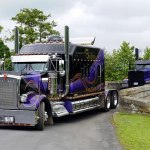 Get A Look At This Perfectly Customized Kenworth W900L Semi Truck Mini 150x150