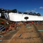 Un camionero muere tras chocar con una furgoneta en la A-66