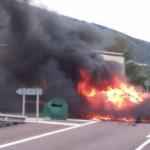 Última hora!! Accidente mortal en la N-340 Santa Magdalena