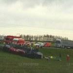 Un muerto tras el impacto frontal entre dos camiones en la RN83