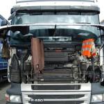 Fuerte multa a un camionero español por conducir sin tarjeta