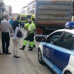 Fallece un camionero de un infarto mientras maniobraba