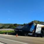 Un muerto al chocar un coche y un camión en la N-122 a la altura de Quintanilla