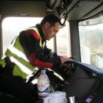 3500€ tras detectar un tacógrafo manipulado al sospechar de pocas horas de conducción