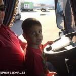 Niños sólo en camiones que lo permitan