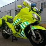 Los radares también van en moto