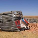 Un camionero de 39 años murió por esquivar un coche que invadió su carril en la  N-IV