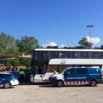 Detenido un conductor de autocar por circular con tasa de alcohol 6 veces superior a la permitida
