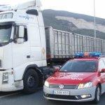 Un viaje por mil euros: inmovilizan un camión en Imárcoian al pillar que el conductor cuadriplica la tasa de alcohol