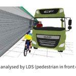 Los camiones más peligrosos (porque les cuesta más verte)