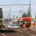 Un camionero se salta un paso a nivel y causa 35 heridos en Eslovaquia