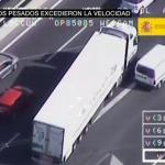 Camiones y autobuses, nuevos objetivos de la DGT con un vídeo que muestra sus peligrosas maniobras e infracciones