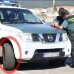 La Guardia Civil revisó los neumáticos de 8.400 vehículos, aunque se olvidó revisar los suyos…