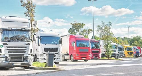Resultado de imagen de camiones parking foro