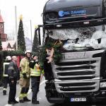 Un freno automático detuvo al camión del atentado de Berlín