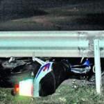 Muere un motorista de 34 años en la A-1 cuando volvía a casa tras una comida familiar