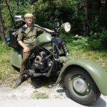 Mira un estupendo Citröen 2CV transformado en una moto!! (VÍDEO)