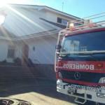 Dos guardias civiles de Ciudad Rodrigo arriesgan su vida y salvan a seis personas, entre ellas dos niños de 1 y 2 años, de un incendio en un chalé