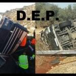 Miércoles negro: Mueren dos camioneros en sendos accidentes en la A-92 y en la N-211