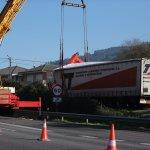 Un camión con 40 toneladas, 13 horas atrapado en Cans