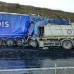 Seis conductores multados por distraerse grabando el accidente de Cizur
