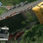 Se repite un accidente en el mismo lugar donde 2 días antes lo había sufrido un camión español