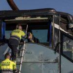 El conductor del autobús afirma que la última vez que tomó cocaína fue en Navidad