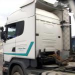 Camionero atrapado al estrenar nuevo GPS