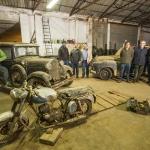 Se ha encontrado una colección de coches clásicos  olvidada en un taller de Salamanca