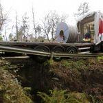 El GPS lleva a un camión de gran tonelaje a quedar atascado en Cabral