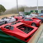 Cae una banda que falsificaba Ferraris en un taller clandestino de un polígono de Sils