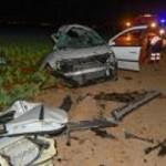 Mueren cinco jóvenes en una brutal colisión de dos coches en Cartagena