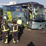 Toxicología confirma que el conductor del autocar escolar que volcó consumió cocaína