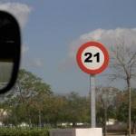 Llega a España el radar que multa a 21 km/h