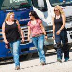 Tres madres, tres amigas, tres camioneras