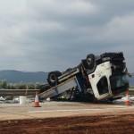 Dos camiones colisionan en la A-4 a la altura de Puerto Lápice