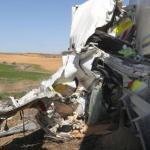 Un despiste del conductor de 22 años, posible causa  de la muerte de un trabajador de conservación  en la A-67