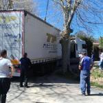 Un camión que iba a Cantabria acaba atascado en… Nestares