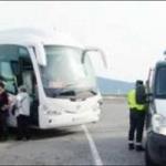 Un conductor de autobús con 40 pasajeros sextuplica la tasa de alcohol