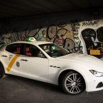 El taxista del Maserati:  el taxi más rápido de España