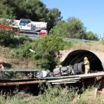 El lunes 3 hoy 1… Fallece un camionero al salirse de la vía su camión en la C-12 en Maials