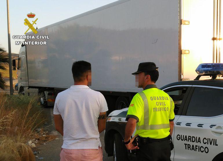 Guardia Civil intercepta a nueve camioneros conduciendo bajo la influencia de drogas o alcohol hasta junio