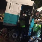 Camionero muere tras ser aplastado por la carga del vehículo en la M-50 de Madrid