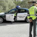 La Guardia Civil 'caza' a un motorista circulando a 232 km/h en sa Pobla