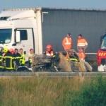 Camionero muere carbonizado a causa de una barricada en Calais