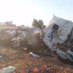 Fallece un camionero de 26 años y su copiloto de 27 herido tras volcar en la CM-310