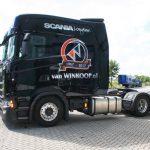 Mira la primera cabina modificada del Scania S de 1,20 metros más