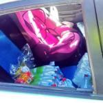 Deja a su hija de 2 años en el interior de un coche al sol durante una hora en Almería